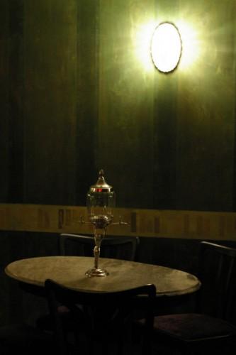 Admirals Bar: Absinthe Fontäne