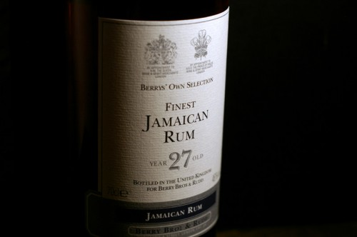 Finest Jamaican Rum 27 Years Old