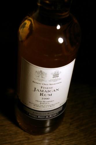 Finest Jamaican Rum 1990
