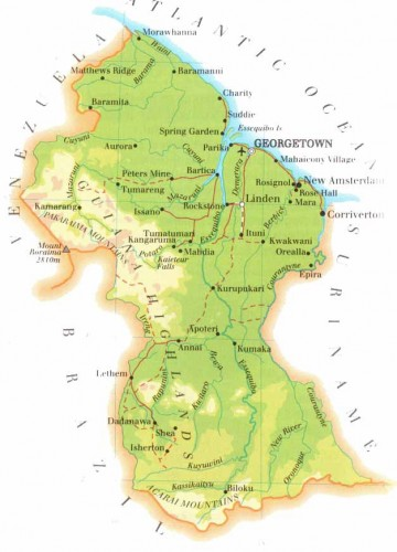 Guyana (Quelle: guyanaguide.com)