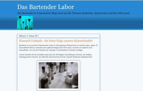 Das Bartender Labor