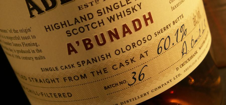 Aberlour A'bunadh - Batch 36